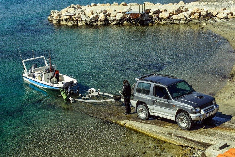 Man kan hyra biltrailers och båttrailers